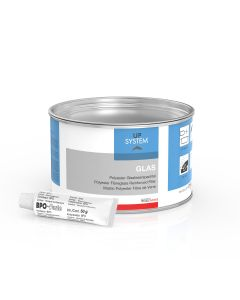 UPS Glas Polyester-Glasfaserspachtel